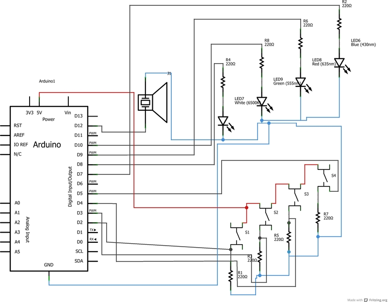 Amazing Simple Arduino Based Memory Game On Breadboard Wiring Database Lotapmagn4X4Andersnl