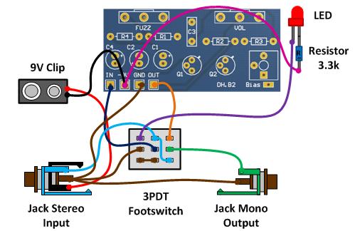 wiring for npn transistors (negative ground)