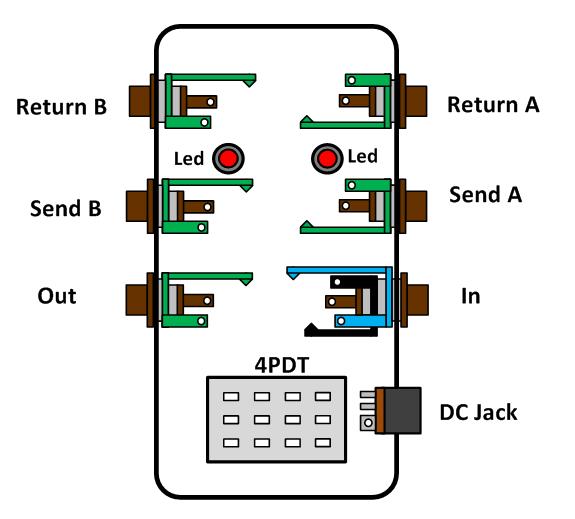 Looper Pedal Schematic