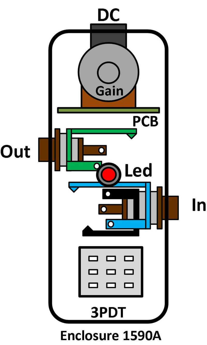 3pdt Wiring Board Electrical Diagram A B Free Engine Image For User Manual Alternative Footswitch Diy